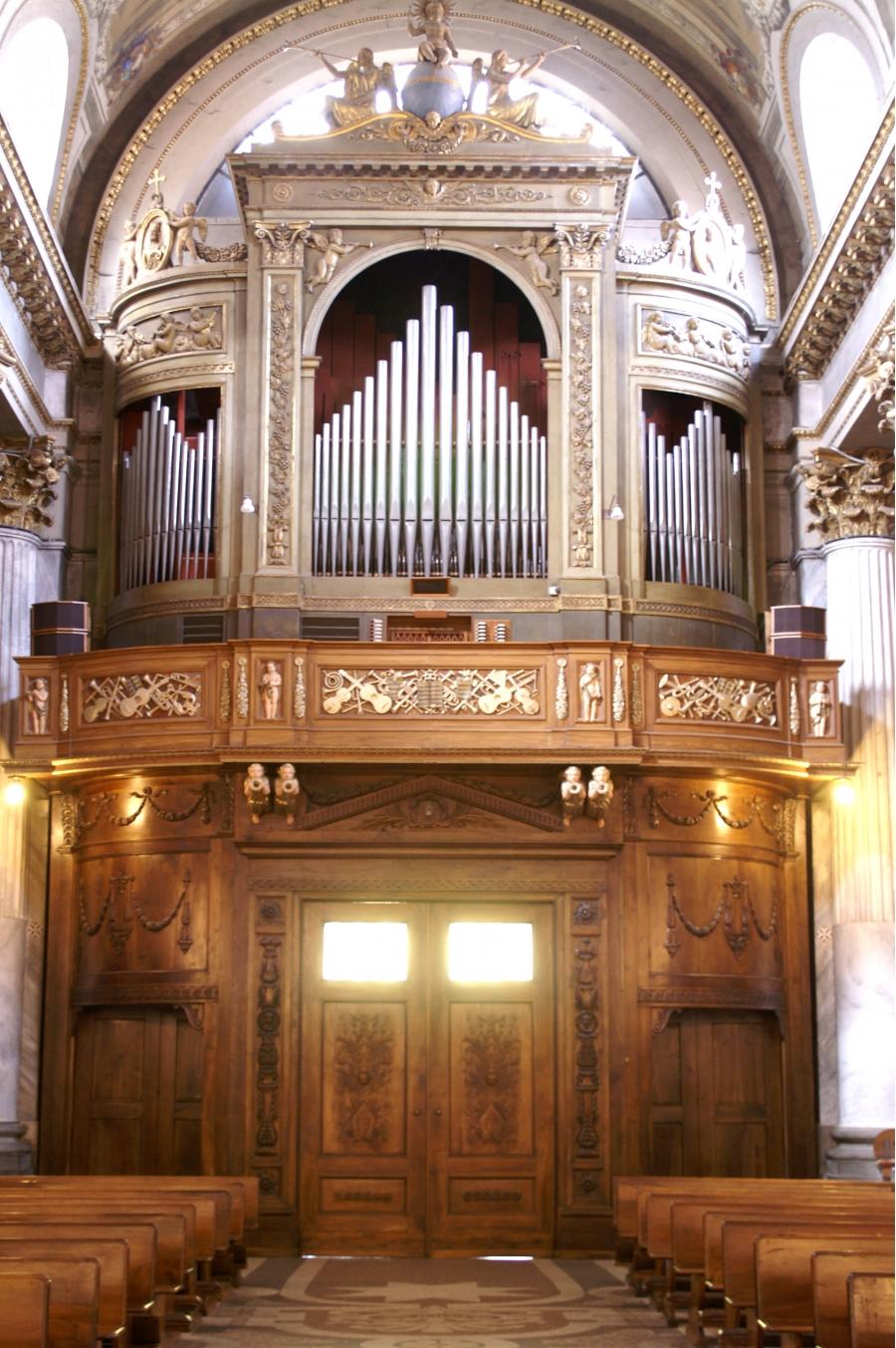 L'organo ottocentesco