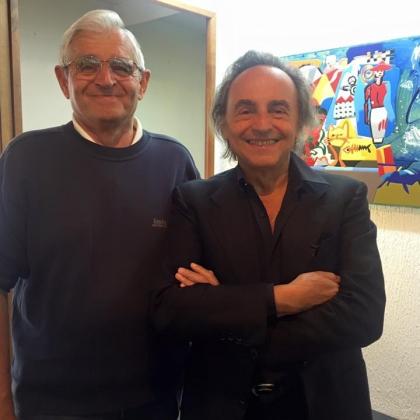 Il Maestro Ugo Nespolo firma il manifesto ufficiale del Carnevale Storico di Santhià